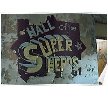 hall of super heros Poster