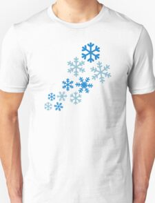 Winter snowflakes T-Shirt