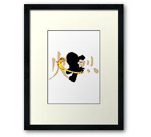 The Fire Flower Nation Framed Print