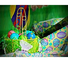 Easter Display Photographic Print