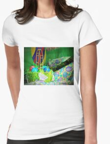 Easter Display Womens Fitted T-Shirt