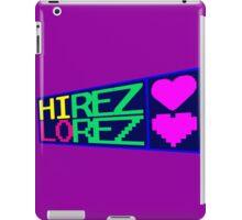 HiREZ LoREZ iPad Case/Skin