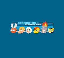 Megaman Generation 1 Robot Masters by ravefirell
