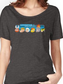 Megaman Generation 1 Robot Masters Women's Relaxed Fit T-Shirt