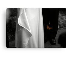Wedding butterfly Canvas Print