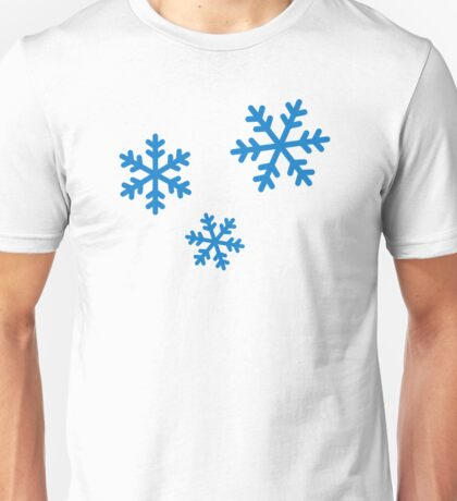 Snowflakes ice Unisex T-Shirt