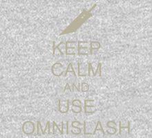 KEEP CALM AND USE OMNISLASH One Piece - Long Sleeve