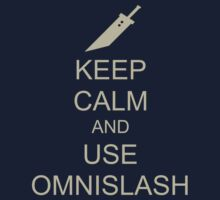 KEEP CALM AND USE OMNISLASH Kids Tee