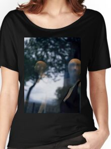 Surreal shop dummy mannequin portrait square color analogue medium format film still life Hasselblad  photo Women's Relaxed Fit T-Shirt