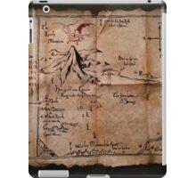 Thror's Map | Thorin Oakenshield's Map - Digital Artwork  iPad Case/Skin