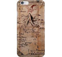 Thror's Map | Thorin Oakenshield's Map - Digital Artwork  iPhone Case/Skin