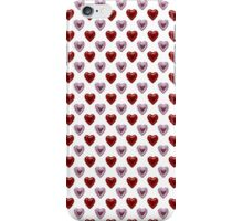 Pink and Red Hearts iPhone Case/Skin