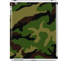 Camouflage Military Tribute iPad Case/Skin