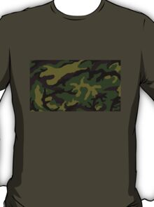 Camouflage Military Tribute T-Shirt