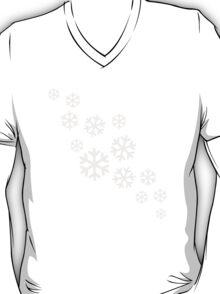 White snowflakes T-Shirt