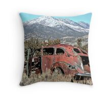 Lost Sedan 2 Throw Pillow