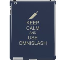 KEEP CALM AND USE OMNISLASH iPad Case/Skin