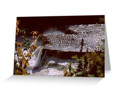 Root Beer Falls, Hay River NWT Greeting Card