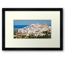Ostuni, Puglia Framed Print
