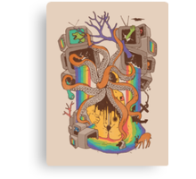 A Fragmented Reality Canvas Print