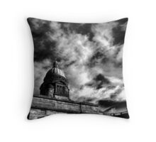 Old College Throw Pillow