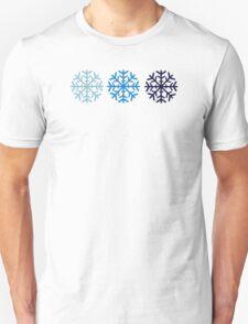 Blue snow Unisex T-Shirt