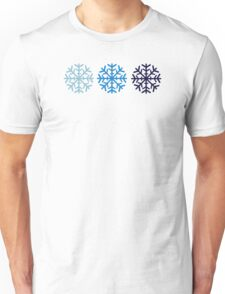 Blue snow Unisex T-Shirt