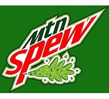 """Mtn Spew"" - Mountain Dew Parody Photographic Print"