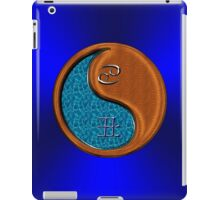 Cancer & Ox Yin Wood iPad Case/Skin