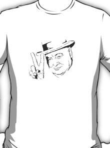 Churchill - V for Victory   T-Shirt
