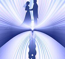 Wedding Couple by lydiasart