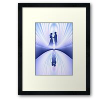 Wedding Couple Framed Print