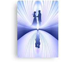 Wedding Couple Canvas Print
