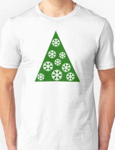 Christmas tree snow T-Shirt