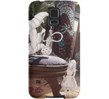 Alice and the Caterpillar Samsung Galaxy Case/Skin