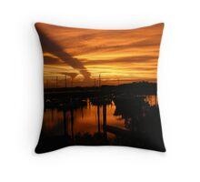 Sunset over Bowen Throw Pillow