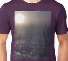 Sun on ice in winter surreal square Hasselblad medium format film surrealist analog photo surrealism Unisex T-Shirt