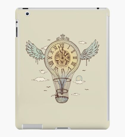 Time's Up iPad Case/Skin