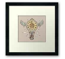 Time's Up Framed Print