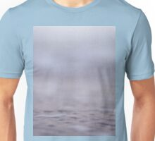 Coastal shoreline at low tide in pink grey purple semi abstract Mamiya 645 medium format film analog photo Unisex T-Shirt