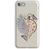 Le Temps Passe Vite (Time Flies) iPhone Case/Skin