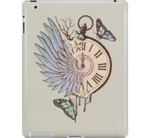 Le Temps Passe Vite (Time Flies) iPad Case/Skin