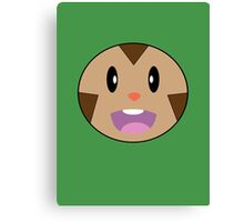 Chespin Face Canvas Print