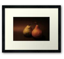Renaissance Pears Framed Print