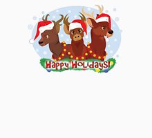 Three Christmas Deer Unisex T-Shirt