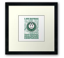 I am Baymax Framed Print