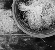Bowl of Twine TRES by Skip Hunt