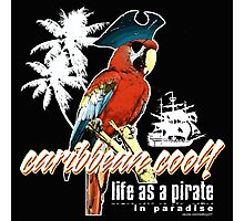 parrot pirate Photographic Print