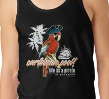 parrot pirate Tank Top
