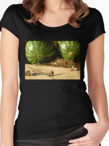 Nice Melons Women's Fitted Scoop T-Shirt